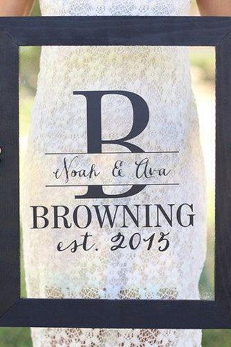 personalized wedding gifts black frame zulilyt via instagram