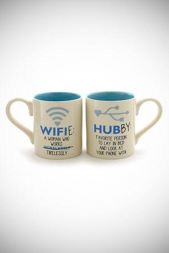 personalized wedding gifts geeky coffee mugs
