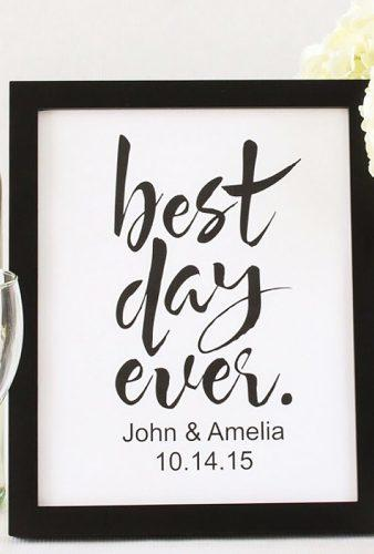 personalized wedding gifts gift in frame