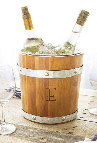 personalized wedding gifts wine ice bucket