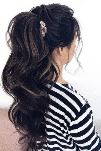 pony tail hairstyles topsy darkhair hair by pustovalova