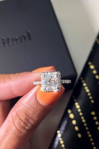 ritani diamond engagement rings princess cut engagement rings halo engagement rings white gold engagement rings pave band ritani