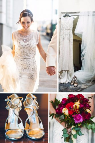 vintage inspired wedding dresses look beaded sheath beaded alisha crossley photography