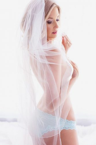 wedding boudoir book white lingerie bride under the veil belle boudoir photography