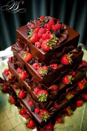 wedding cake alternatives chocolate jelly with fruits wedding dream