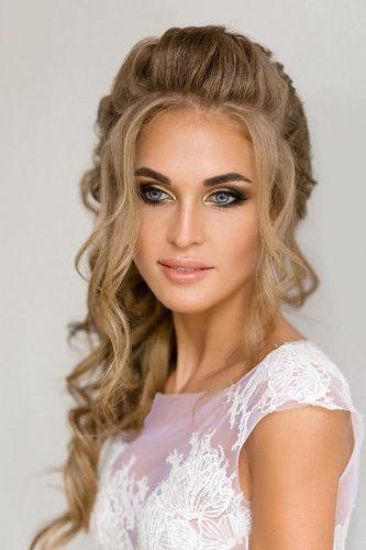 wedding hair and makeup colored bronze makeup anastasiya gan