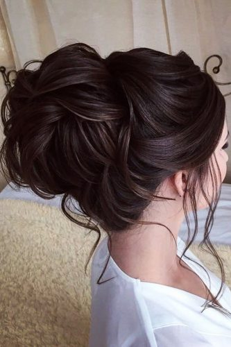 wedding hairstyle inspiration high updo with loose curls lavish pro