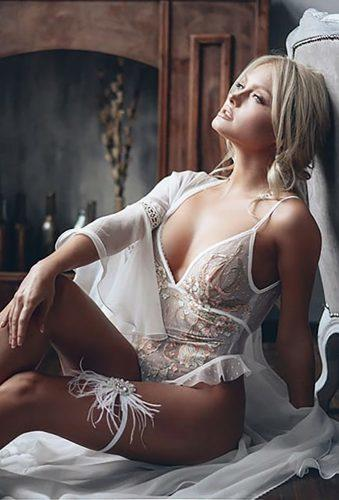 wedding lingerie body with robe rara_avis_lingerie