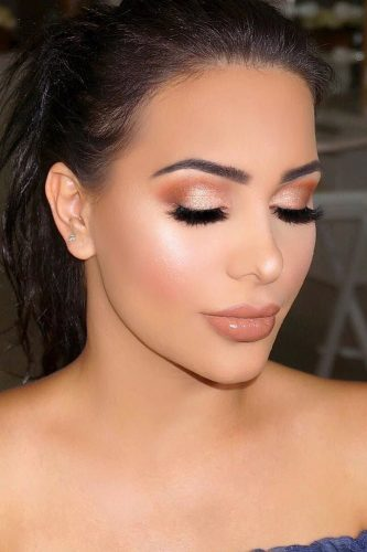 wedding makeup for brunettes natural makeup vanitymakeup