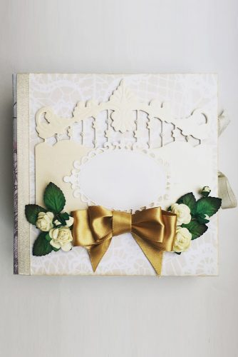 wedding photo book cover diy paperwishart via instagram