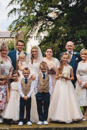 wedding photo book family bride and groom matthew grainger photography