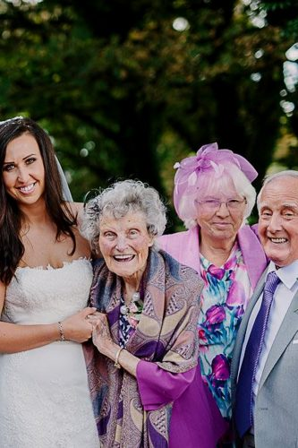 wedding photo book family bride gareth scanlon photography