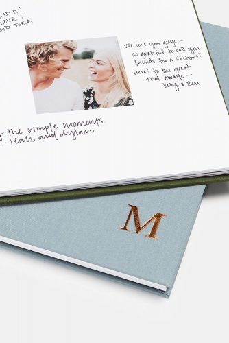 wedding photo book wishes for bride and groom artifactuprising via instagram