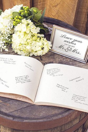 wedding photo book wishes for bride and groom beau coup via instagram