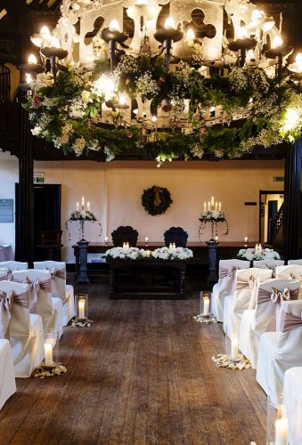 winter wedding decorations ceremony decor flowerdesignevents