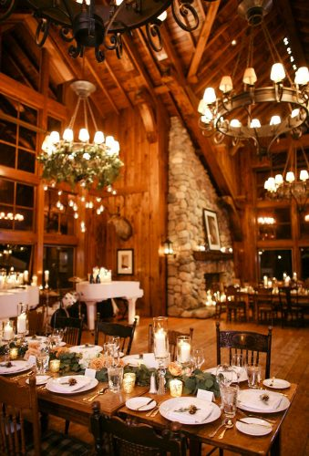 winter wedding decorations reception decor MeganWynn