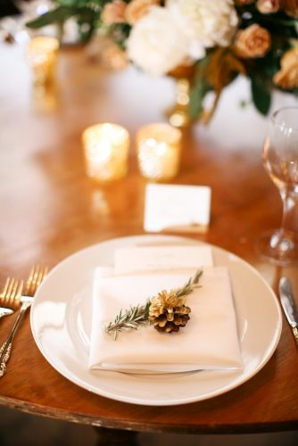 winter wedding decorations table decor Megan Wynn