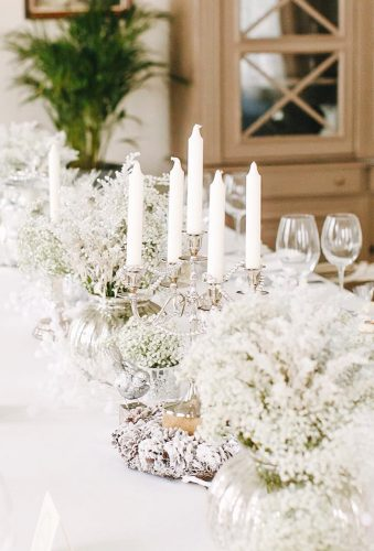 winter wedding decorations white table decor lollipops decor