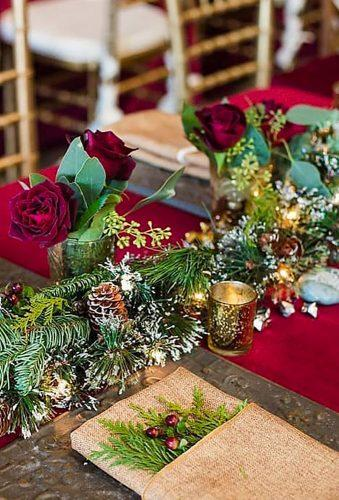 winter wedding decorations winter table decor pixelbloomstudio