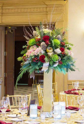 winter wedding decorations winter wedding centerpiece viviano_flower_shop