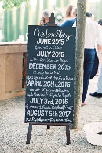 zeynab kanso wedding decoration signs love story joseba sandoval