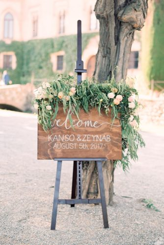 zeynab kanso wedding decoration signs welcome joseba sandoval