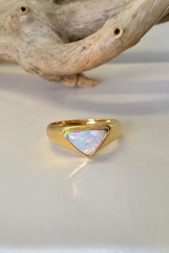 opal engagement rings rose gold engagement rings uniuqe engagement rings modern engagement rings minimalistic ring theopalcutter