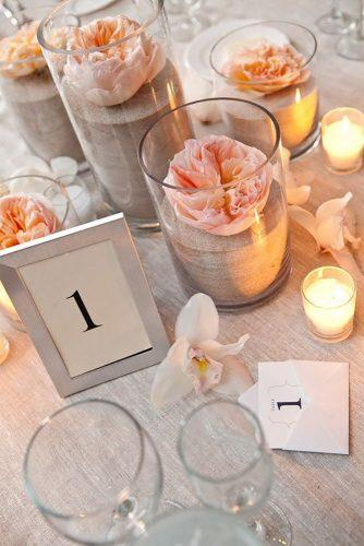 beach wedding decoration ideas beach centerpiece tory williams photography