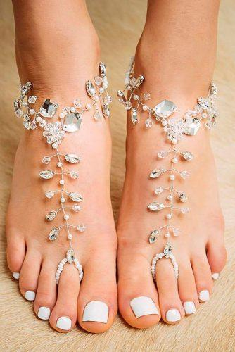 beach wedding shoes bright drop rhinestones forever soles