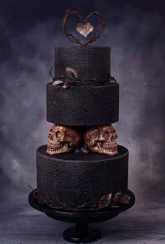black and white wedding cakes modern black cake twistercakeart