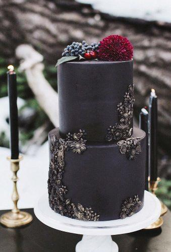 black and white wedding cakes small black wedding cake jennfromttheblock