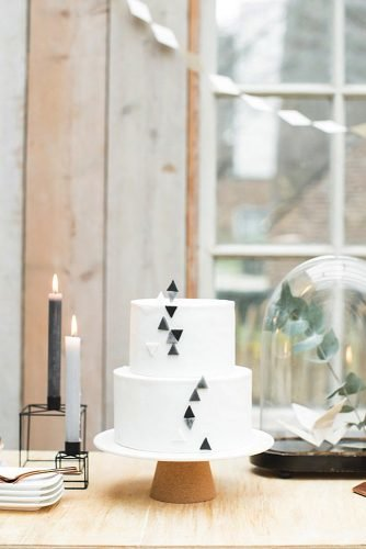 black and white wedding cakes unique wedding cake
