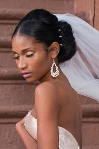 42 Black Women Wedding Hairstyles | Wedding Forward