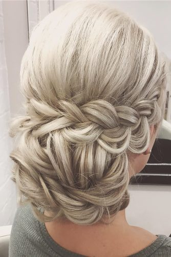 boho wedding hairstyles bohemian braided updo with bun sweethearts hair