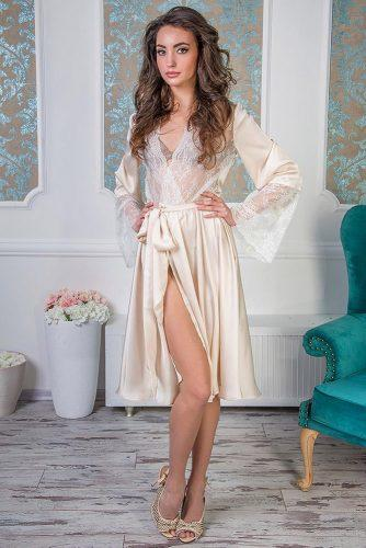 bridal robes silk aivory robe angellureboutique