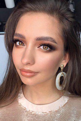 bridesmaid-makeup-bronde-shades-black-liner-long-lashes-grishina.viktoria