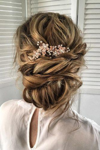 bridesmaid updos simple messy twisted volume updo sabrinadijkman
