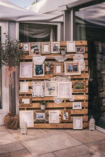 cheap wedding decorations wooden photo display this modern love
