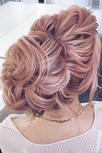 fall wedding hairstyles bright pink hair my wedmakeup