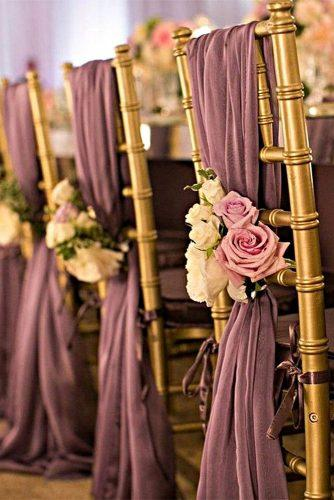 gold wedding decorations gold ceremony chairs victor sizemore photography