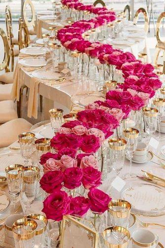 gold wedding decorations gold reception red flower petit atelier melbourne
