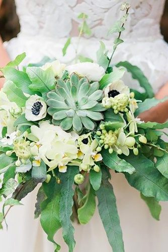 green wedding florals tender green bouquet namekphoto
