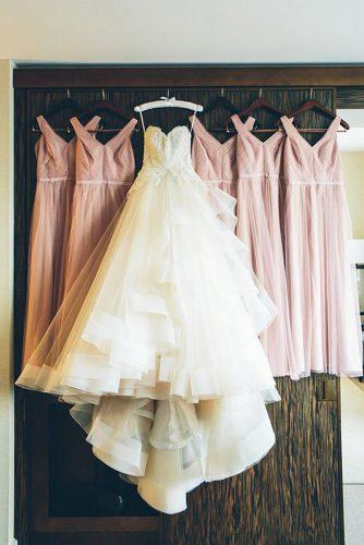 hanging wedding dress bridesmaid bridal gowns long cynthia chung photography