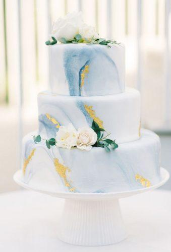 marble wedding cakes blue cake aaronandjillian