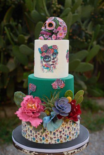 Mexican Wedding Cakes.42 Exciting Colourful Mexican Wedding Cake Ideas Wedding