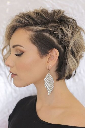 mother of the bride hairstyles asymmetry short wavy cut chloenbrown