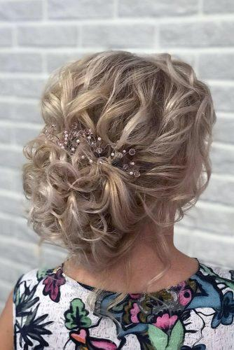 mother of the bride hairstyles elegant textured curly updo djamilya_hairstylist