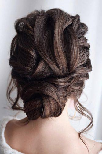 mother of the bride hairstyles elegant textured updo with loose curls tonyastylist