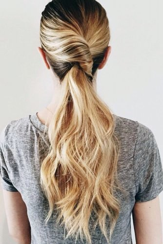 mother of the bride hairstyles fancy ponytail with curls on long hair kristin_ess