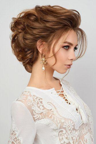 mother of the bride hairstyles high updo elegant with curls ruslantatyanin